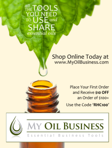 Magazine ad for my oil business